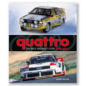 New book - quattro: The Race and Rally Story 1980 - 2004