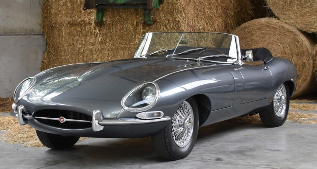 Pristine E-Type Series 1 takes you back to the factory floor