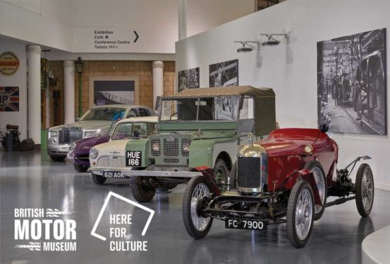 British Motor Museum awarded £707,000 from Culture Recovery Fund