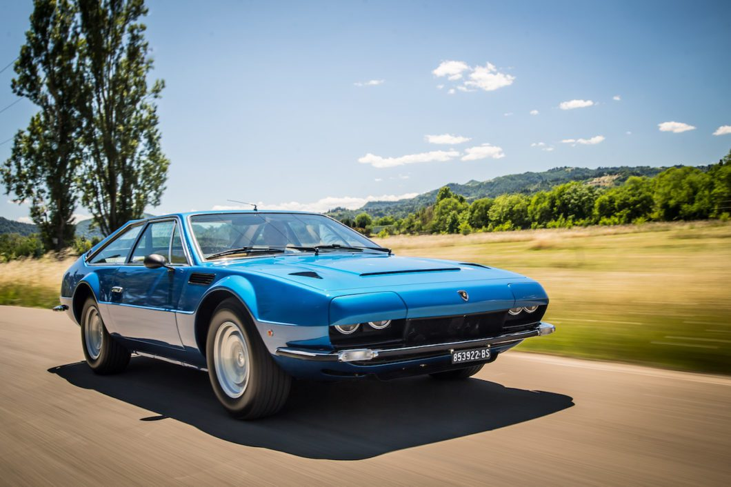 Lamborghini celebrates the 50th Anniversary of the Jarama GT