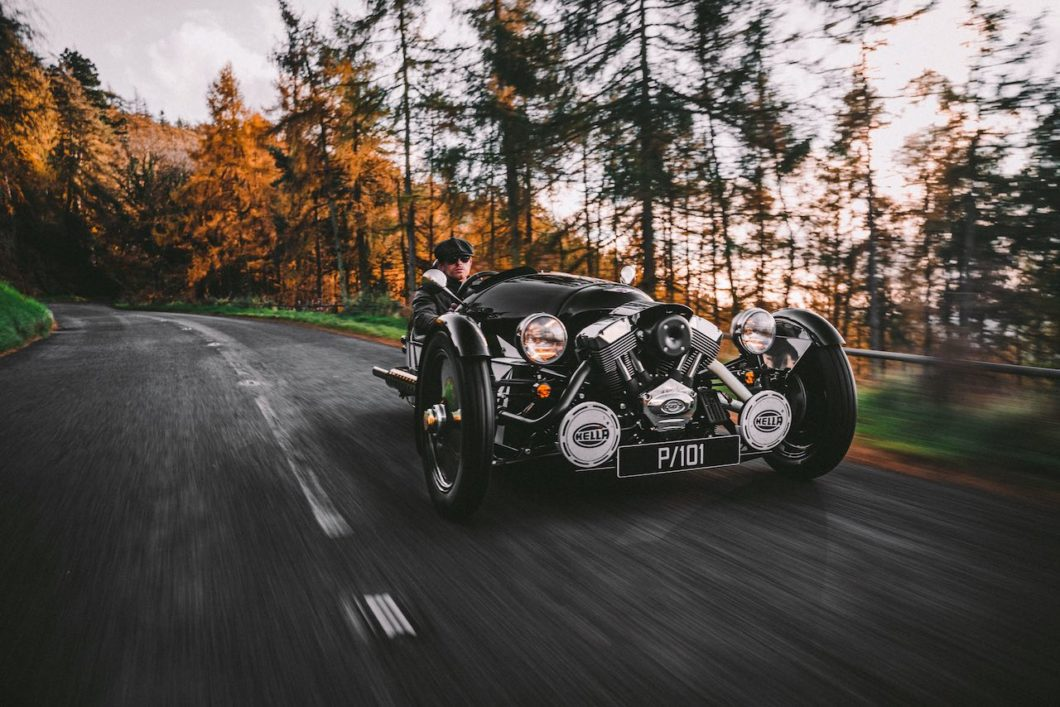 Morgan unveils new 3 Wheeler P101 Limited Edition