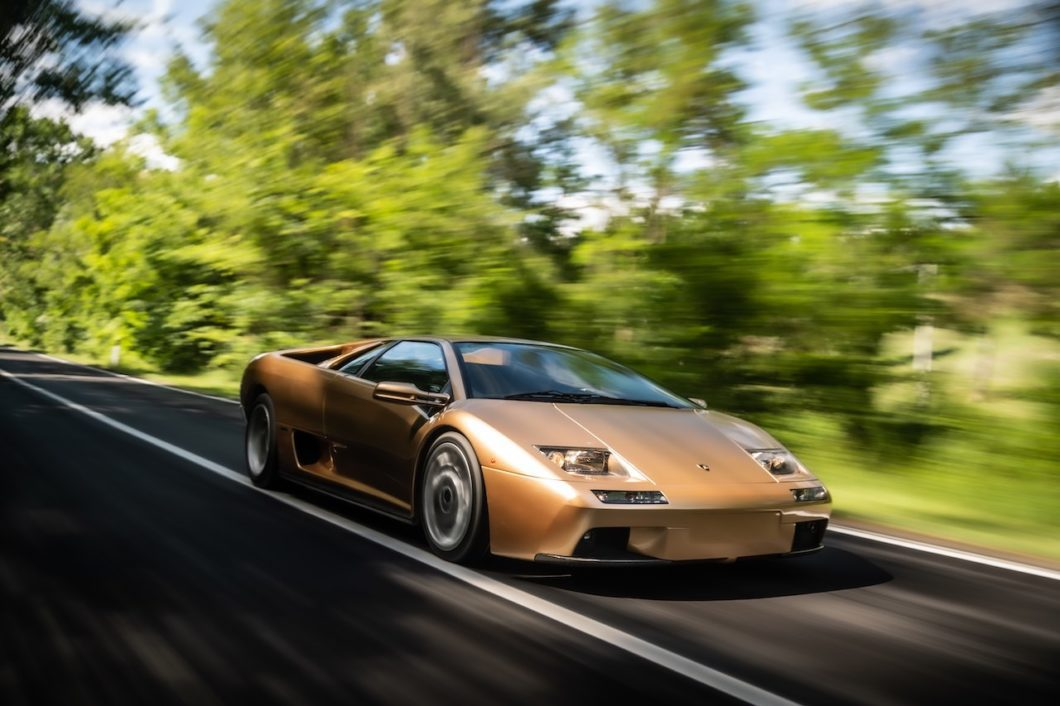 Lamborghini celebrates 30th anniversary of the iconic Diablo
