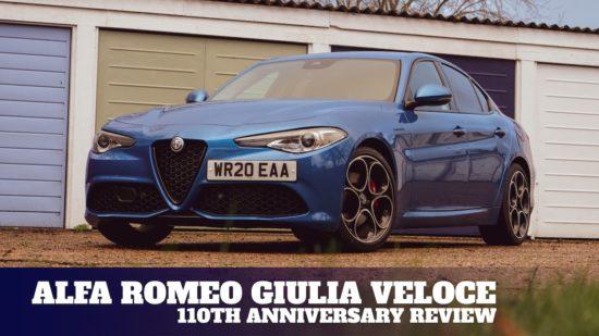 Celebrating Alfa Romeo's 110th anniversary with the Giulia Veloce