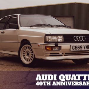40 years on the Audi quattro has it still got it