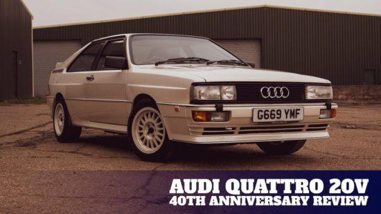 40 years on the Audi quattro has it still got it