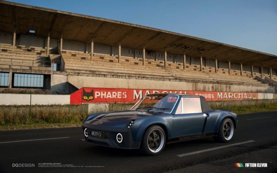 Fifteen Eleven Design announce new take on the Porsche 914