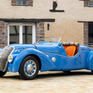 Rare 1938 Peugeot 402 Darl'mat Special Sport set for Bonhams sale