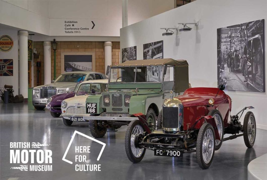 British Motor Museum wins Royal Automobile Club Historic Award