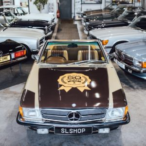 SL specialists SLSHOP mark 50 years of the Mercedes R107 SL