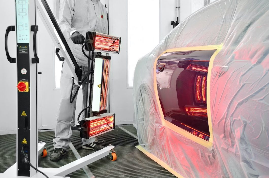Ceramic Coating: What it is, how it compares and using InfraRed Curing