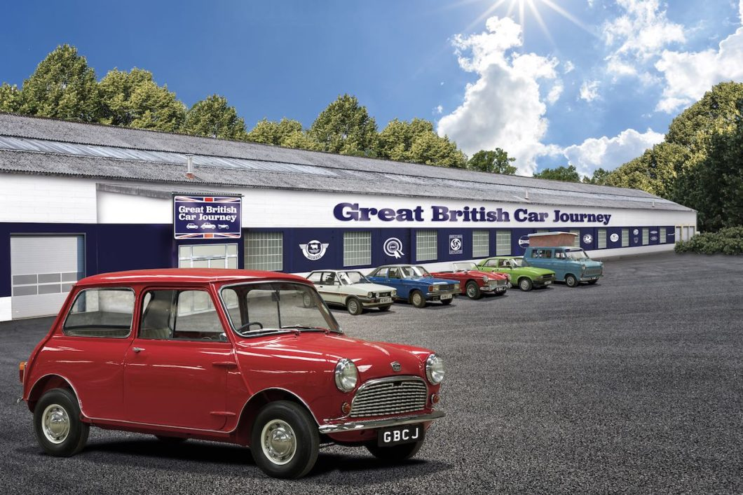 New classic car visitor centre Great British Car Journey to open this summer