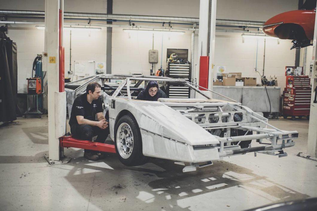 Update on the Aston Martin Bulldog restoration