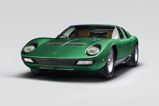 Lamborghini marks 50th anniversary of the mighty Miura SV