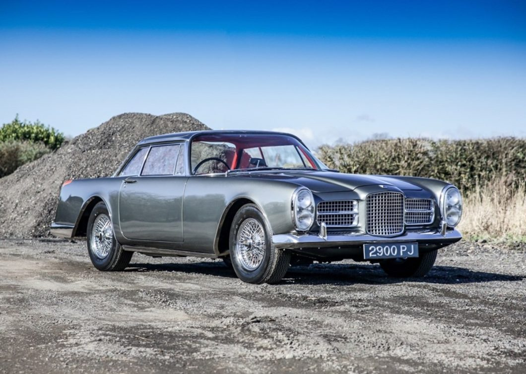Facel Vega with infamous past offered by Historics Auctions