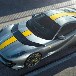 First look at the latest Ferrari 812 Superfast limited edition