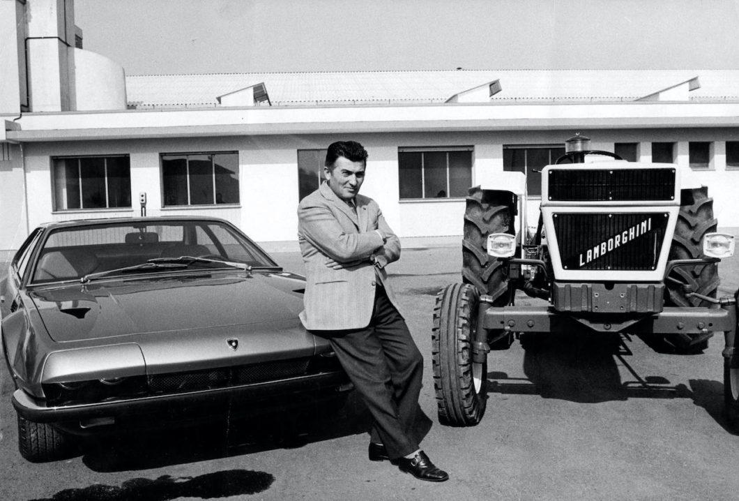 105th anniversary of the birth Ferruccio Lamborghini