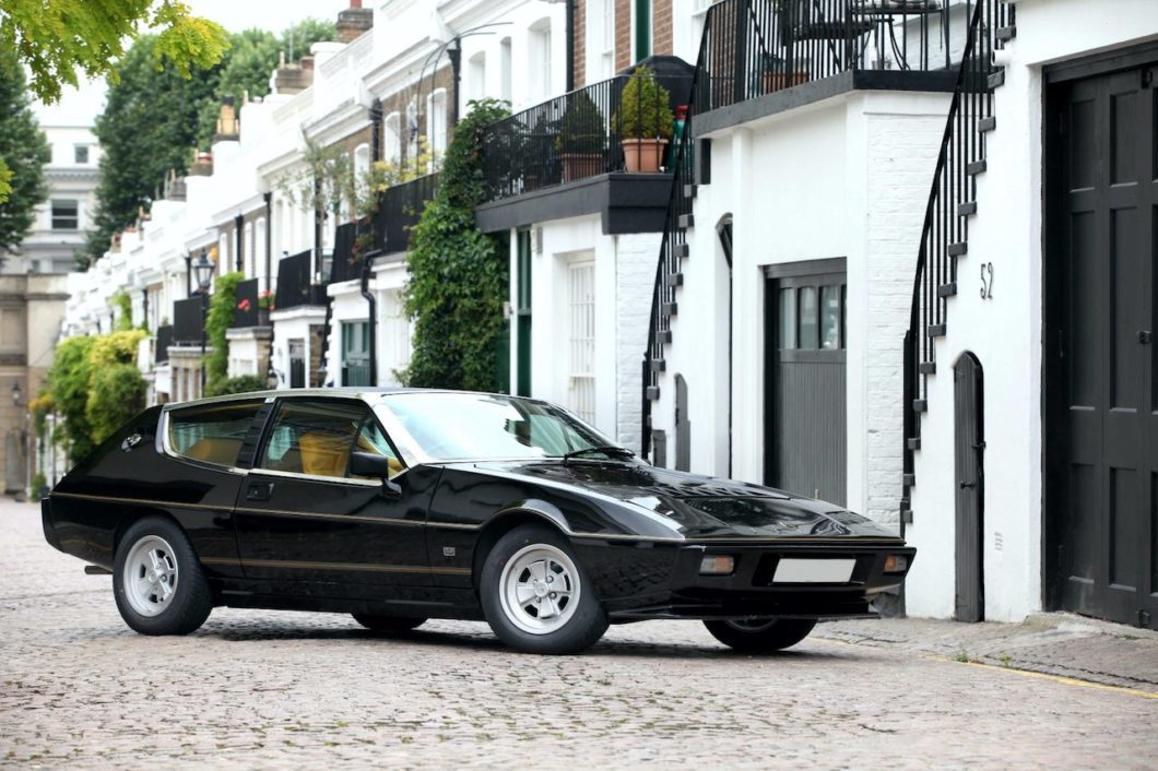Lotus display set for London Concours Great Marques class