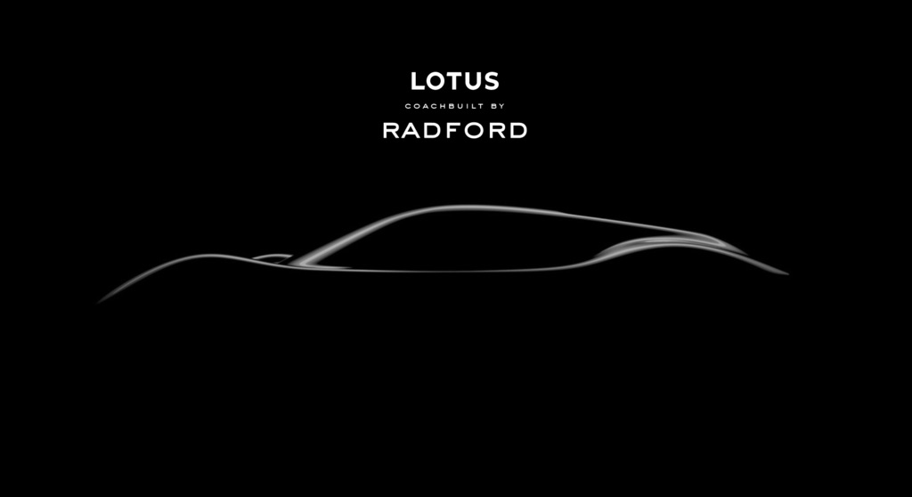 Radford to partner with Lotus for first car
