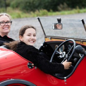 Classic car driving experiences for kids launches