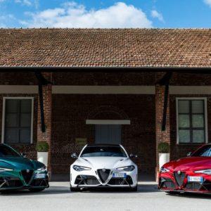 Alfa Romeo Giulia GTA and GTAm debuts at Balocco Proving Ground