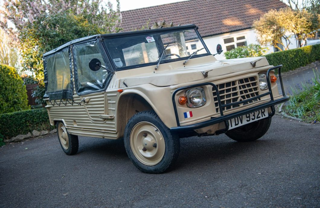 Citroen Mehari owned by Dave Davies of The Kinks up for auction