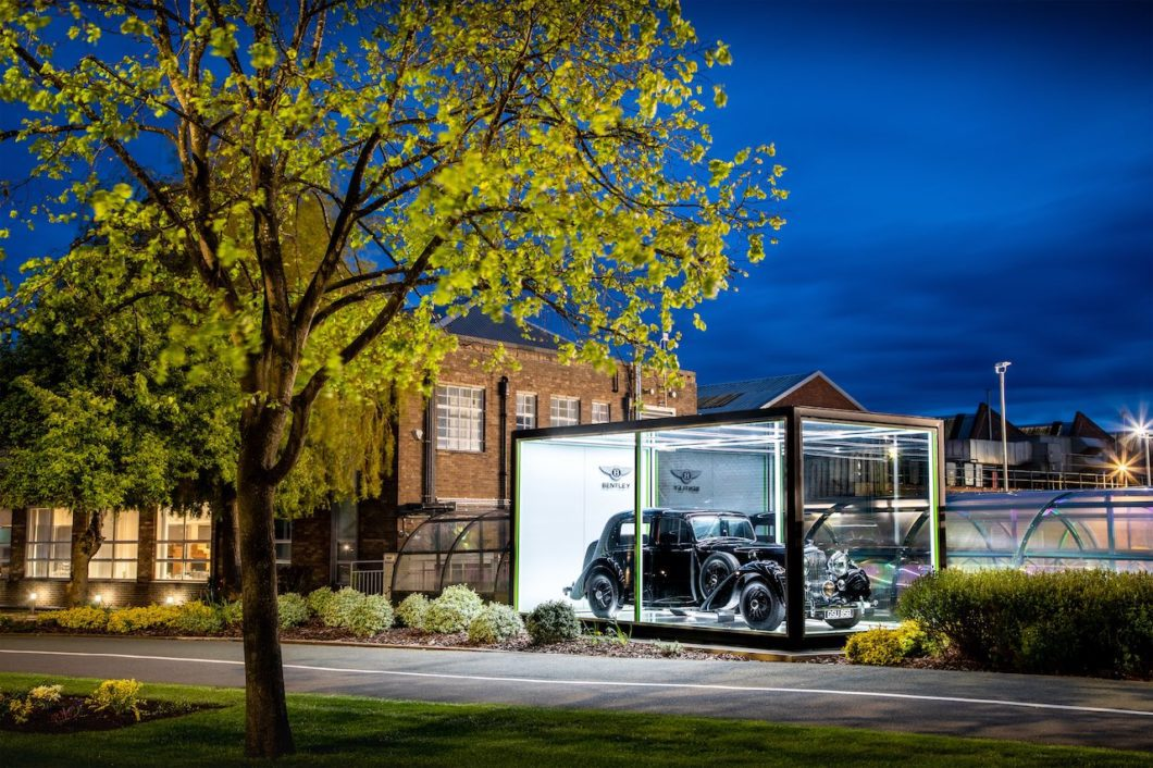 Bentley marks 75 years since first Mk VI was built at Crewe