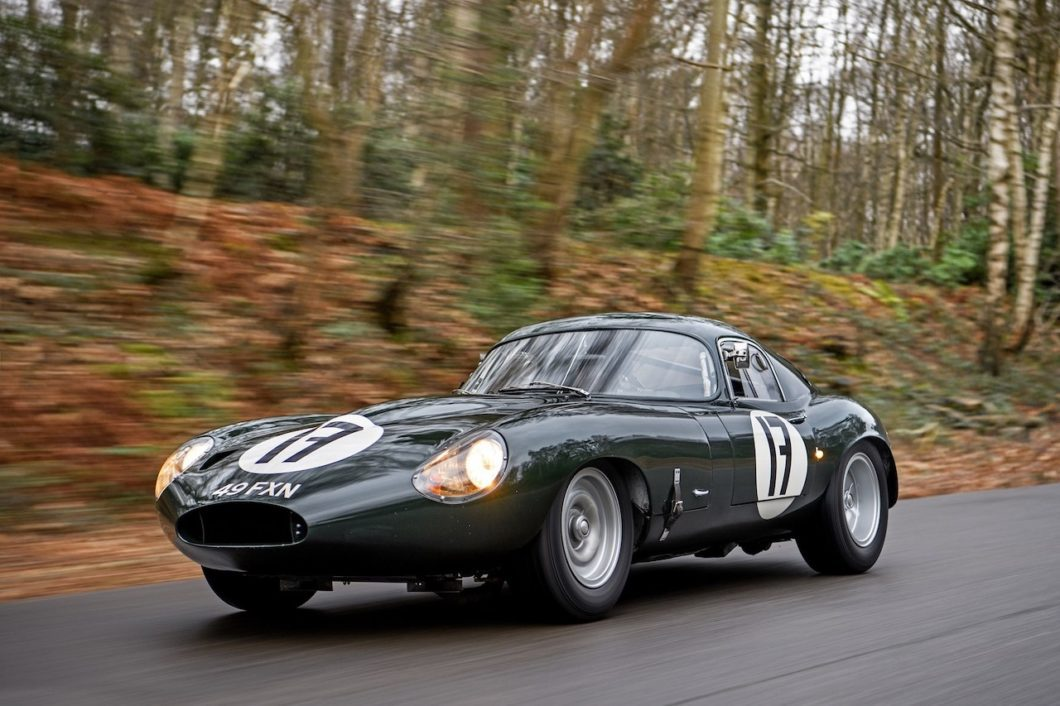 E-type racing icons set for 60th Birthday at London Classic Car Show