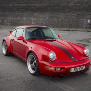 Everrati unveils new Porsche 911 EV at Joe Macari London