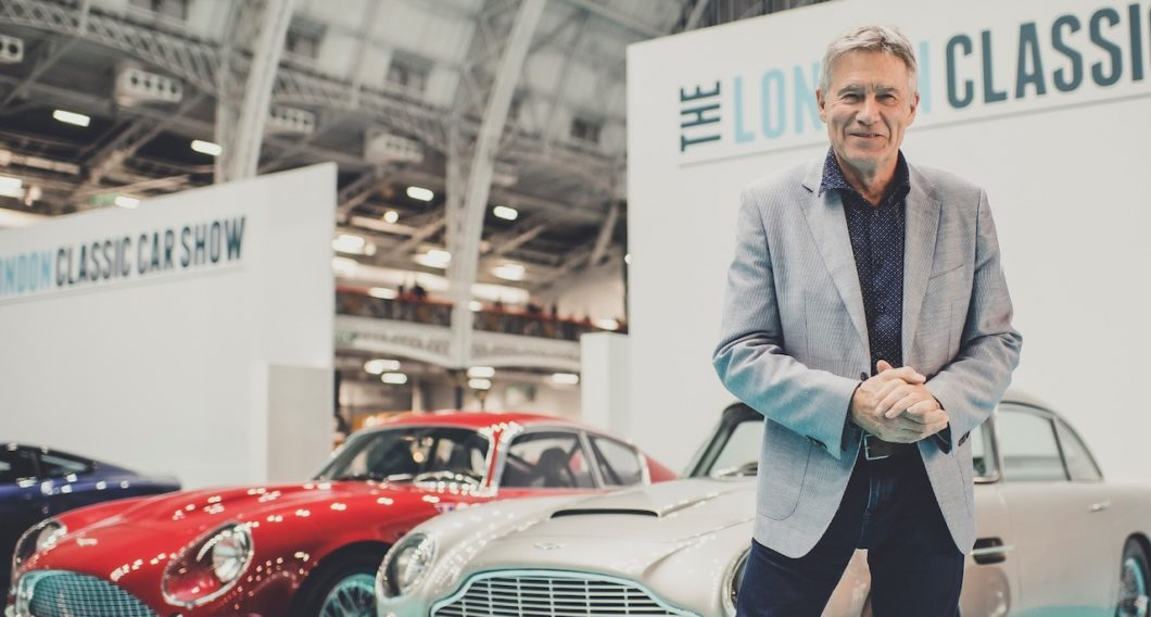 Stars of the classic car world to attend The London Classic Car Show