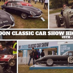 London Classic Car Show 2021 - Highlights from Syon Park
