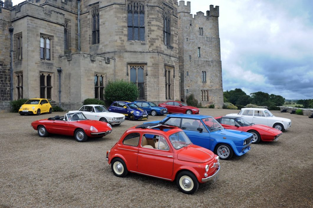 Raby Castle to host Northern Italian Car Day
