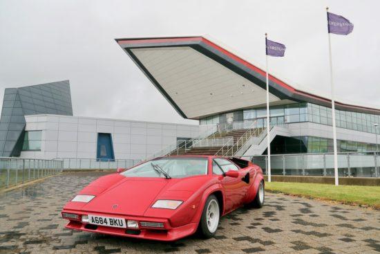 Lamborghini Countach 50th to be celebrated at The Classic