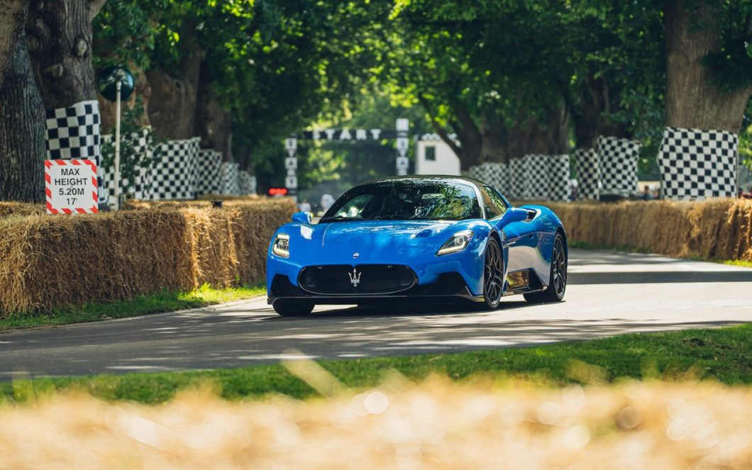 Maserati MC20 makes UK debut at Goodwood Festival of Speed
