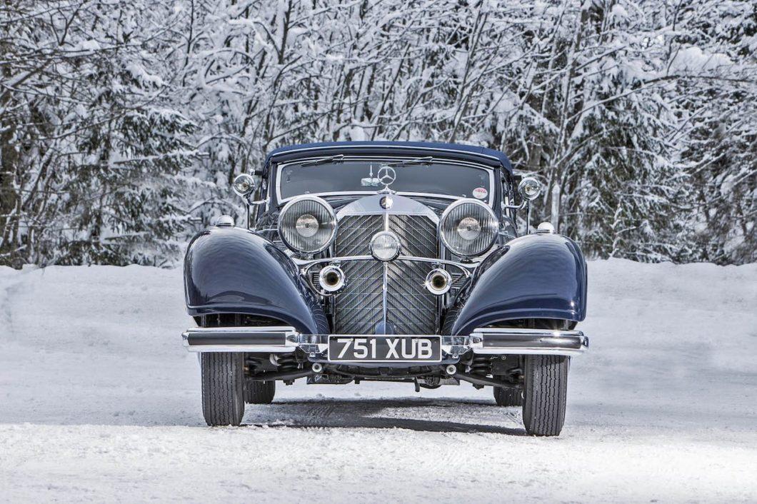 Mercedes and Jaguar pre-war greats to star at Salon Prive
