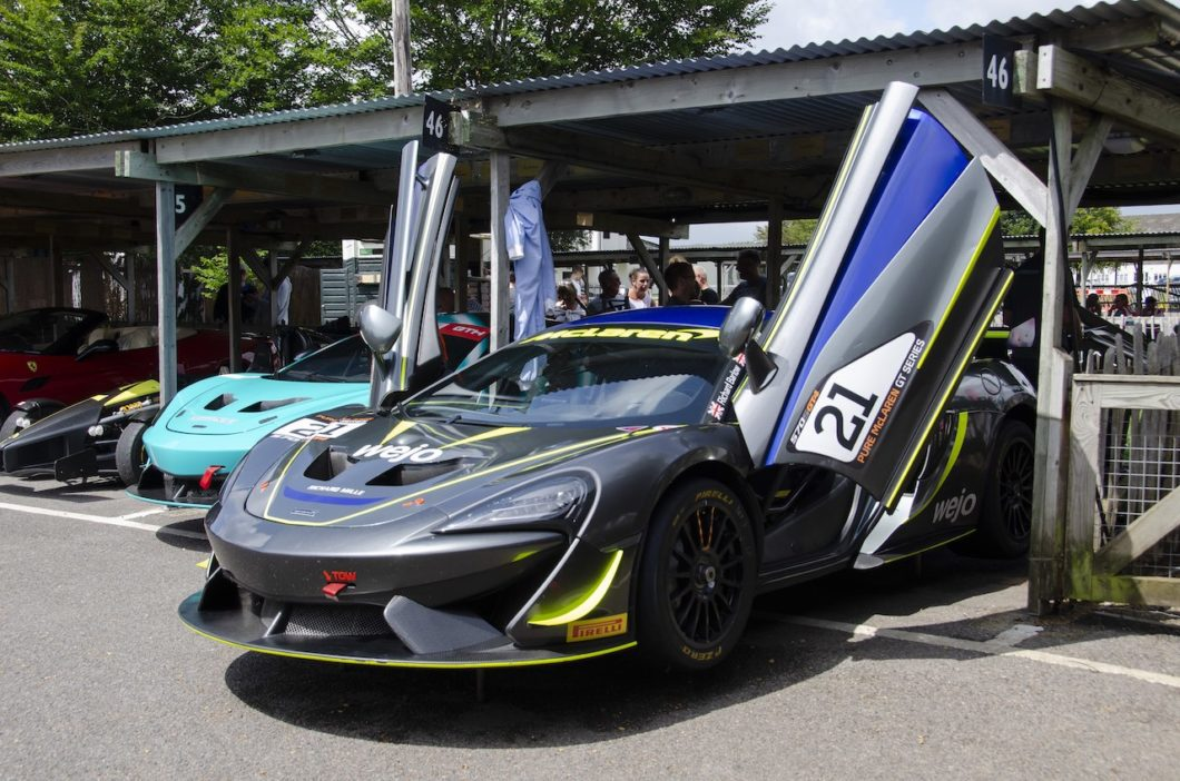 Supercars worth £18 million raise thousands for children with brain injury