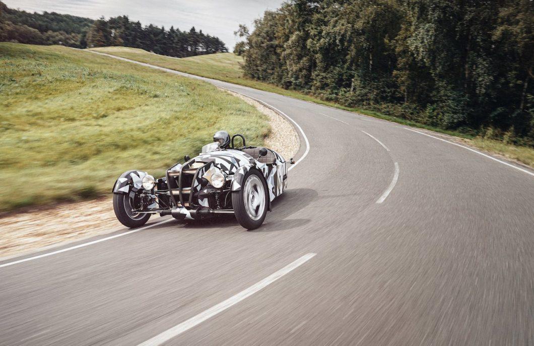 Morgan Motor Company shows off new 3 Wheeler prototype