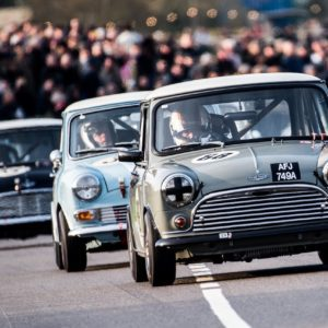 Brian Johnson and Sir Chris Hoy to race Mini Coopers at Goodwood Revival