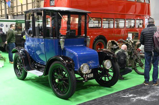 NEC Classic Motor Show to showcase electric classics