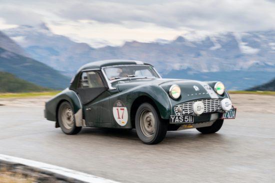 Triumph and Frazer Nash win Rally the Globes Carrera Italia